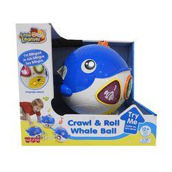 Ballena con Luz y Sonido Hap-p-Kid Crawl n Learn Whale Ball 4232T