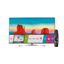 "Smart TV 4K 55"" LG 55UK6550PSB"