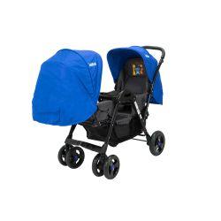 Cochecito de bebé Bebitos BE 758 Azul Para mellizos