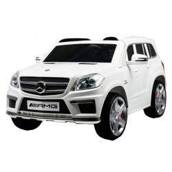 Auto a Bateria Camioneta Mercedes Benz GL63 AMG 12V 3028 Blanca