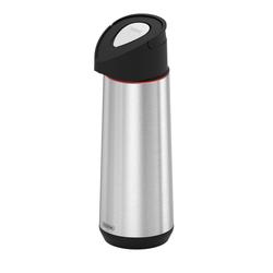 Termo Bomba Tramontina Exata de acero inoxidable con ampolla de vidrio 1,8 L
