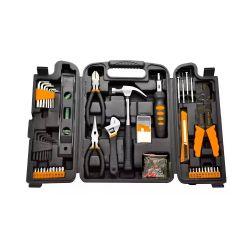 Caja de herramientas SET129RALLY Lusqtoff Kit 129 Piezas + Maletín