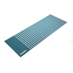 Colchoneta Mat Yoga Reebok 4 mm Verde Rayada