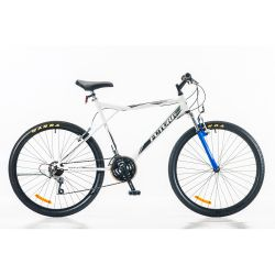 Bicicleta Futura Techno MTB Rodado 26 Hombre con Suspension Color Blanco