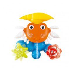 Juguete para el Baño del Bebé Cangrejo Tira Agua Love 7487