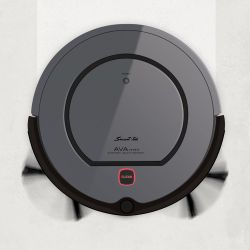 Aspiradora Robot Smart-Teck Ava Mopper Dark Gray