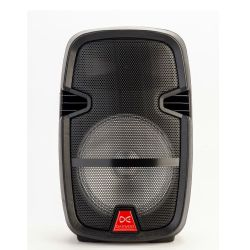 Parlante Daewoo Rock DW-S7010 10 1600 W Luces Mic Bluetooth
