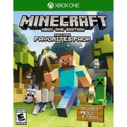 Juego Xbox One Mojang Minecraft Favorite Pack