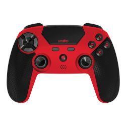 Joysticks Joy Orbweaver BT - PS4 Color Rojo y Negro