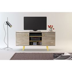 Rack para TV Ottilia 1.35 m color Álamo