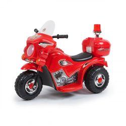 Moto Policía a Batería Love 3003 Color Rojo