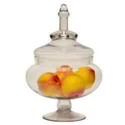 Potiche Copetinero Caramelera Con Tapa De Cristal 39 Cm