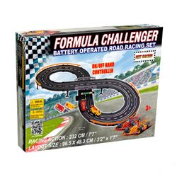 Pista de Autos Formula Challenger 6019