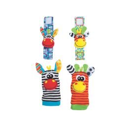 Juguete didáctico Playgro JUNGLE WRIST RATTLE AND FOOT FINDER