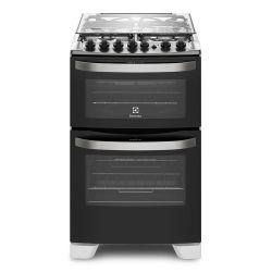 Cocina Doble Horno Sup/Eléctrico Inf/Gas Electrolux 56DBQ