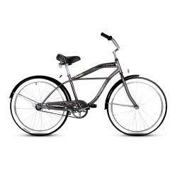Bicicleta Playera TopMega Rambler Rodado 26 Color Gris