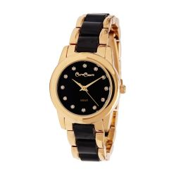 Reloj Mujer Caro Cuore dorado y negro CC13 CEBK