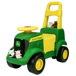 Juguete didáctico John deere SIT N SCOOT ACTIVITY TRACTOR