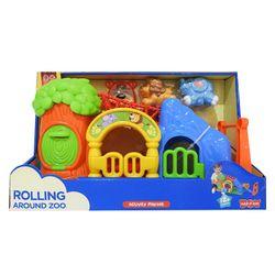 Hap-p-Kid Rolling Around Barn Zoo 4253-4254