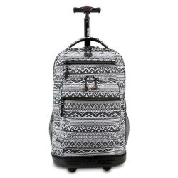 "Mochila Escolar 19"" con Carro Portanotebook J-World NY Sundance"