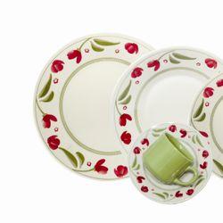 Juego de Vajilla 30 Piezas Biona by Oxford Ceramica Roseli Dec 1269 1124248