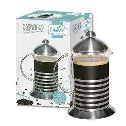 Cafetera Tipo Express 800 cc Nouvelle Cuisine Vidrio con Base de Acero Inoxidable 1110471