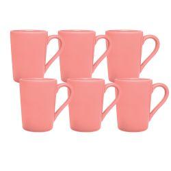 Set x 6 Jarros Mug 230 CC Biona by Oxford Ceramica Rosa 1994064