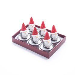 Vela Tealigt Piña Santa x 6 unidades Nee