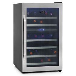 Cava Winefroz Premium Doble Temperatura 38 Bot a compresor