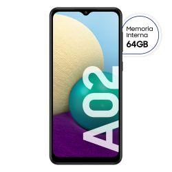 Celular Libre Samsung Galaxy A02 Negro 64GB
