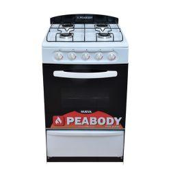 Cocina Peabody Multigas 53cm Blanca
