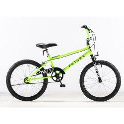 "Bicicleta Rodado 20"" Futura BMX Amarillo Fluo"