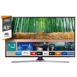 "Smart TV 4K 43"" Samsung UN43MU6100GCFV"