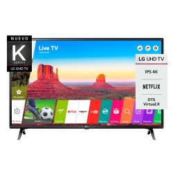 "Smart TV 4K 43"" LG 43UK6300PSB"