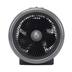 Caloventor BGH - Turbina (2 en 1) - Fan Heater  - 1800W Negro