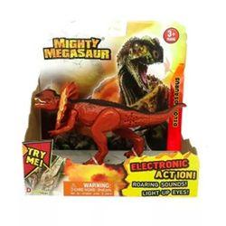 Mighty Megasaur Dilophosaurus con Luz y Sonido