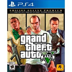Juego PS4 Rock Star Games Grand Theft Auto V