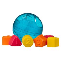 Juguete didáctico Playgro ROLL AND SORT BALL Blue