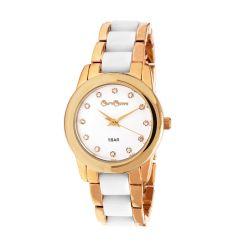 Reloj Mujer Caro Cuore dorado y blanco CC13 CEWH