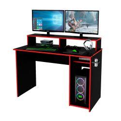 Escritorio Gamer Centro Estant EG1R Negro y Rojo