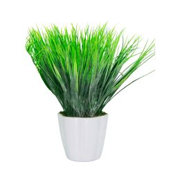 Planta Decorativa Helecho Artificial En Maceta 25 cm
