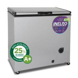 Freezer Horizontal Inelro FIH270P+ 215 Lts Gris Plata