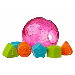 Juguete didáctico Playgro ROLL AND SORT BALL PINK