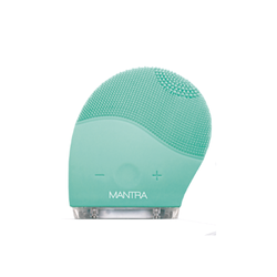 Limpiador y exfoliador facial silicona Carga USB Mantra Silicone Brush acquamarine