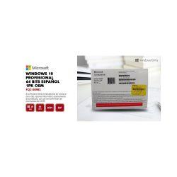 Windows 10 Profesional 64B 1PK Español DVD