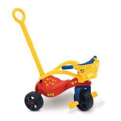 Triciclo Infantil Jeico Perrito Con Manija y Protector