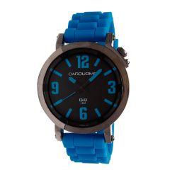 Reloj Hombre Caro Uomo malla silicona azul CU02 PUBL