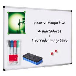Pizarra 80x120 Cm Para Marcadores Magnetica Con Marcadores Y Borrador