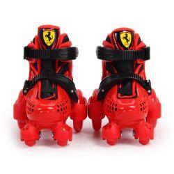Patines Para Niños Ferrari FK10 Rojo Talle 30-33 Extensible con Casco