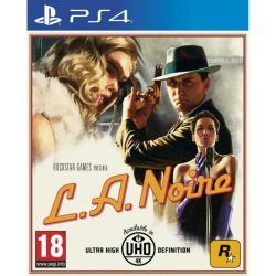 Juego PS4 Rockstar L.A Noire